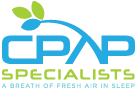 CPAP Specialists Footer Logo