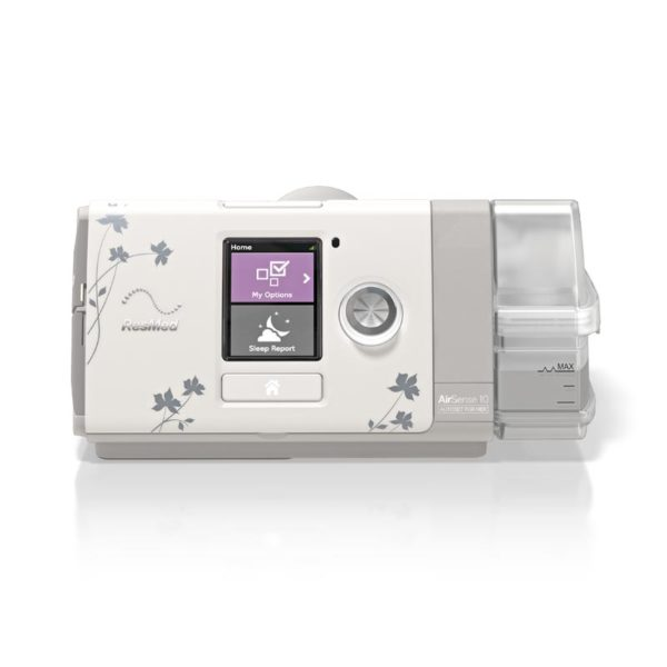 ResMed AirSense™ 10 AutoSet CPAP for her.