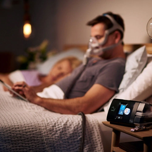 ResMed AirSense™ 10 Autoset™ Mask and Machine | CPAP Specialists New Zealand Advert
