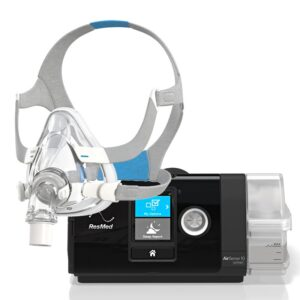 ResMed AirSense™ 10 Elite CPAP Machine + Full Face Mask Package