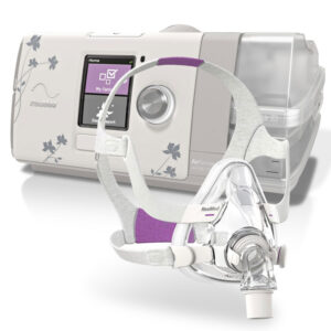 ResMed AirSense™ 10 Autoset Machine + AirFit™ Full Face Mask Package