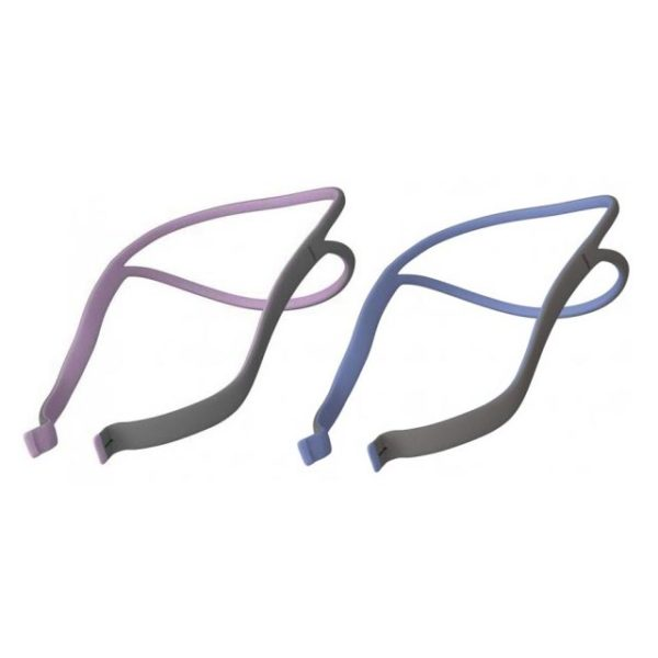 ResMed AirFit™ P10 Headgear Assembly | Blue & Pink for Her