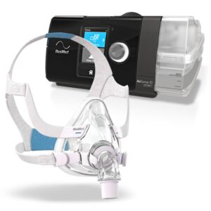 ResMed AirSense™ 10 Autoset™ CPAP Machine + AirFit™ Full Face Mask Package