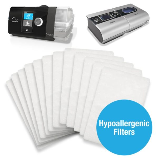 ResMed S9™ and AirSense™ 10 Hypoallergenic Filters