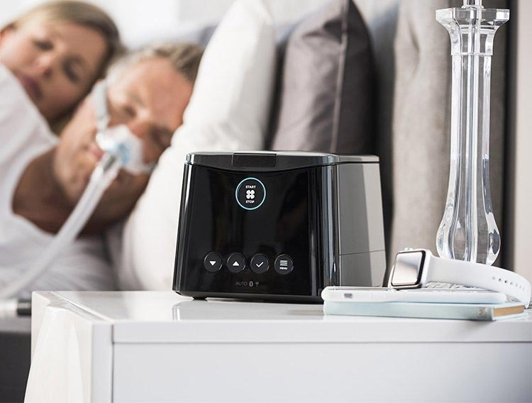 Fisher and Paykel SleepStyle Auto CPAP Machine Display